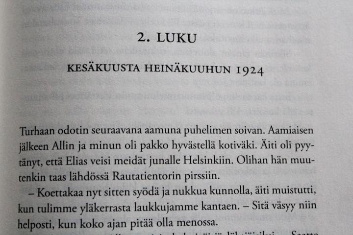 Enni Mustonen: Ruokarouvantytär