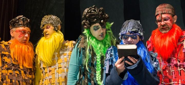 Teatterissa: Atlantis