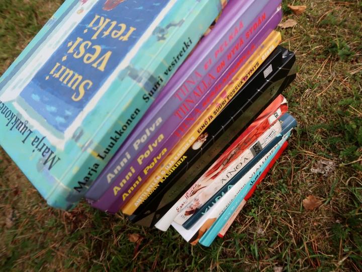 Kuusi kirja-asiaa, jotka annan itsellenianteeksi