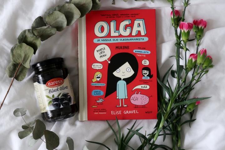 Elise Gravel: Olga ja haiseva olioulkoavaruudesta