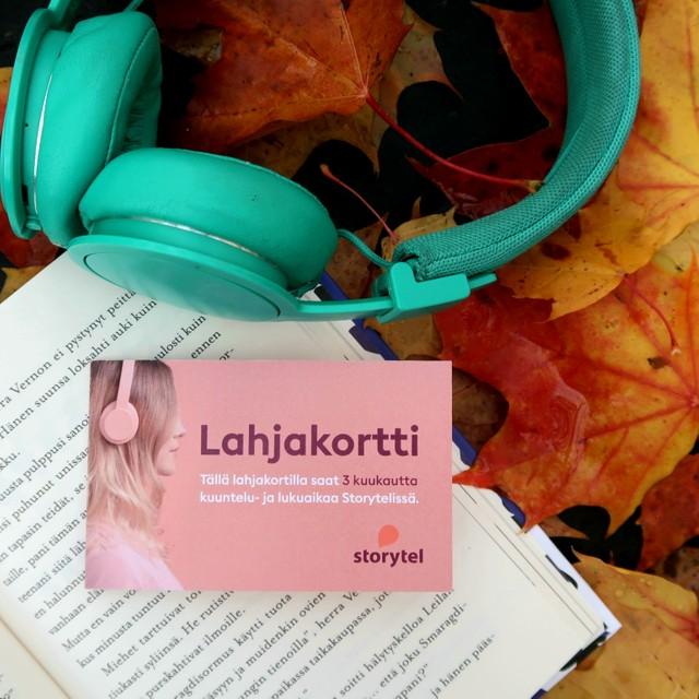 Voita 30 euron lahjakortti Storyteliin – Hyvää synttäriäBibobookille!
