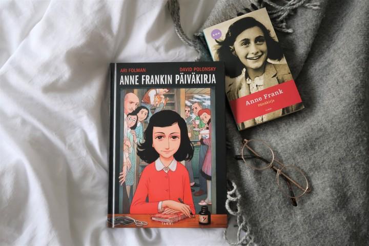 Vuoden paras sarjakuva! – Ari Folman & David Polonsky: Anne Frankinpäiväkirja