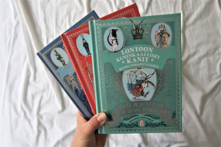 Kertomuksia rohkeista jänöistä – Lontoon kuninkaalliset kanit-sarja