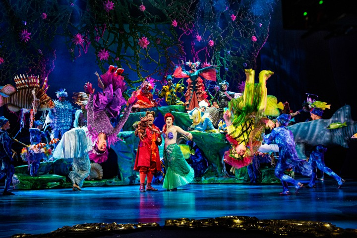 Teatterissa: Pieni merenneito