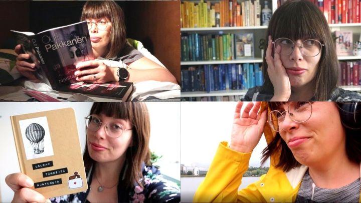 Lokakuun videoissa hyvästeltiin kesäkoti ja suunniteltiin hullunrohkeaa kirjoitusprojektia