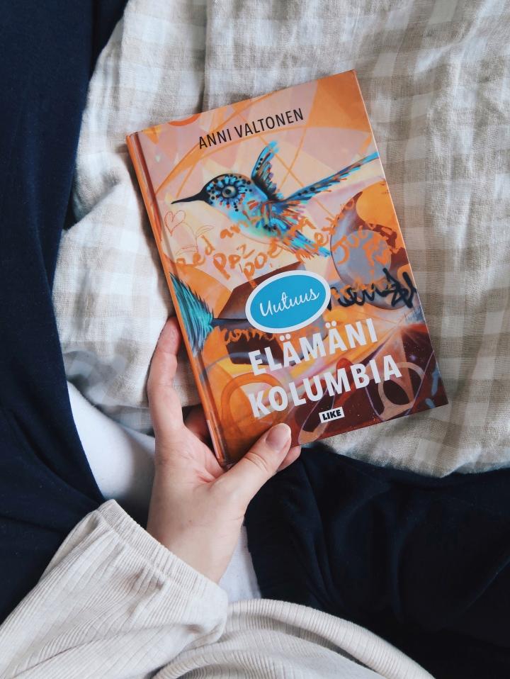 Nojatuolimatka valtameren yli – Anni Valtonen: ElämäniKolumbia