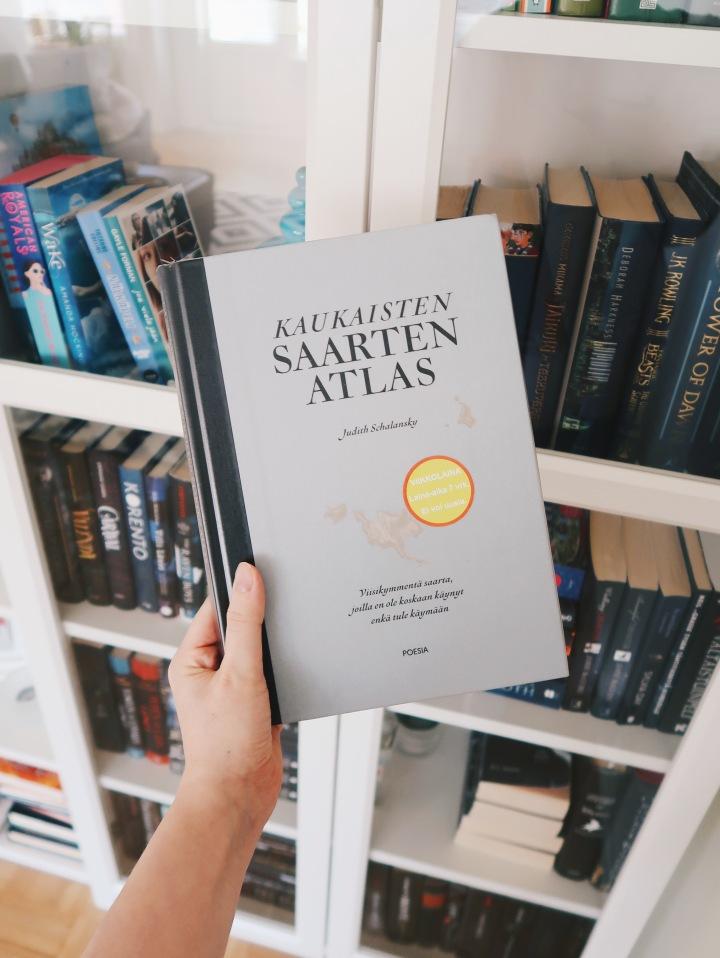 Matka 50 syrjäiselle saarelle – Judith Schalansky: Kaukaisten saartenatlas